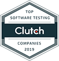 software testing company award by clutch